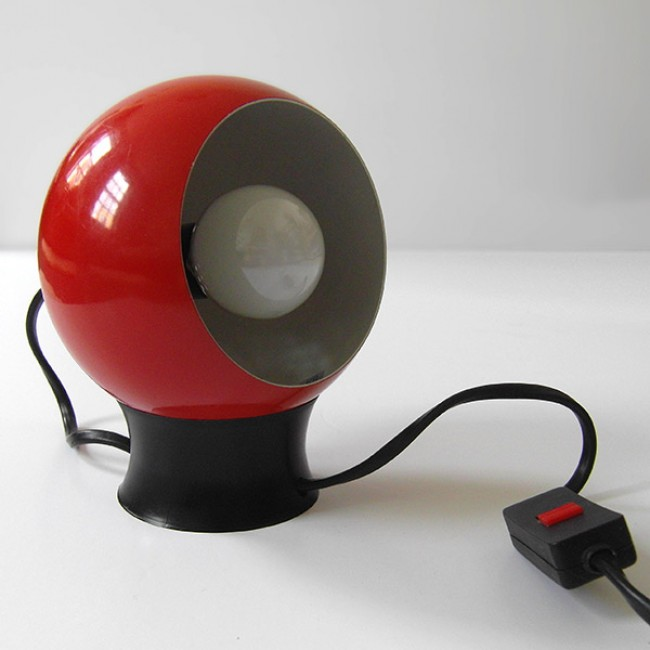 60s/70s ball lamp by Frandsen of Denmark