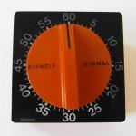 Kienzle Germany Signal orange kitchen timer