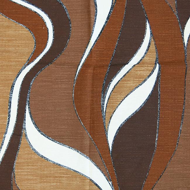 Offcut neutrals earth tones slubbed fabric