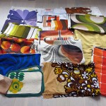 Huge bundle of 60s/70s fabrics for project work