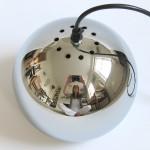 Chrome ball hanging light Danish near mint