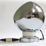 Chrome ball table/wall lamp Swedish 60s