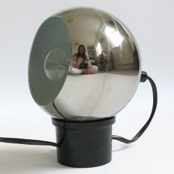 Chrome ball table/wall lamp Danish 60s