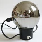 Chrome ball table/wall lamp Danish 60s