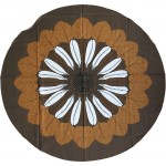 Almedahls Sweden huge circular flower tablecloth