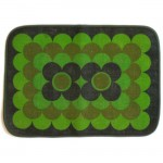 Four table mats by Sodahl Design of Denmark