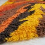 Ege Rya 1960s/70s wool rug made in Denmark