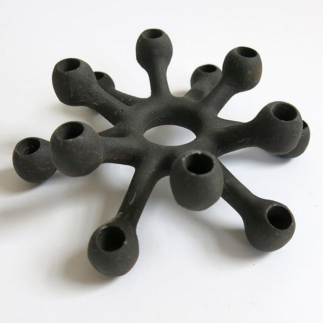 Dansk Designs Quistgaard cast iron candleholder