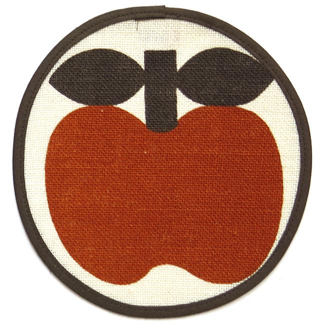 Södahl small circular apple mats (2) Danish