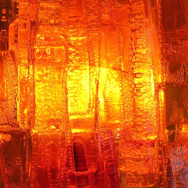 Claus Bolby Veega acrylic art wall light 1968