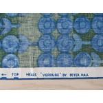Heals Peter Hall Verdure 1960s single curtain