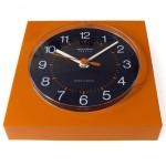 Remington Lectro vintage orange wall clock