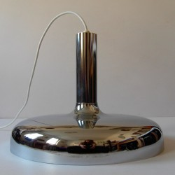 Bentler of Denmark large chrome pendant light