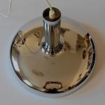 Bentler of Denmark large chrome pendant light