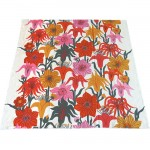 Swedish 1960s fabric Joseph Frank style exotic flowers