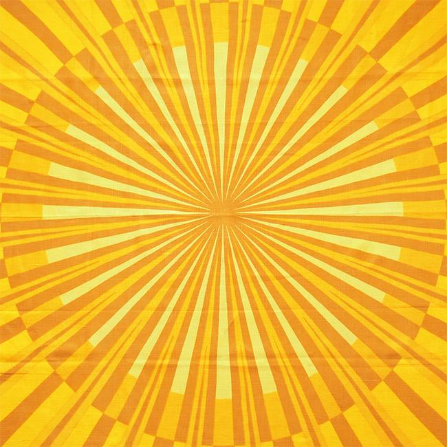 Grautex Soldug textile art print by Bodil Bødtker-Naess