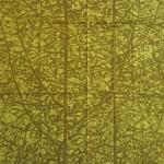 Swedish midcentury modern trees design fabric mint unused
