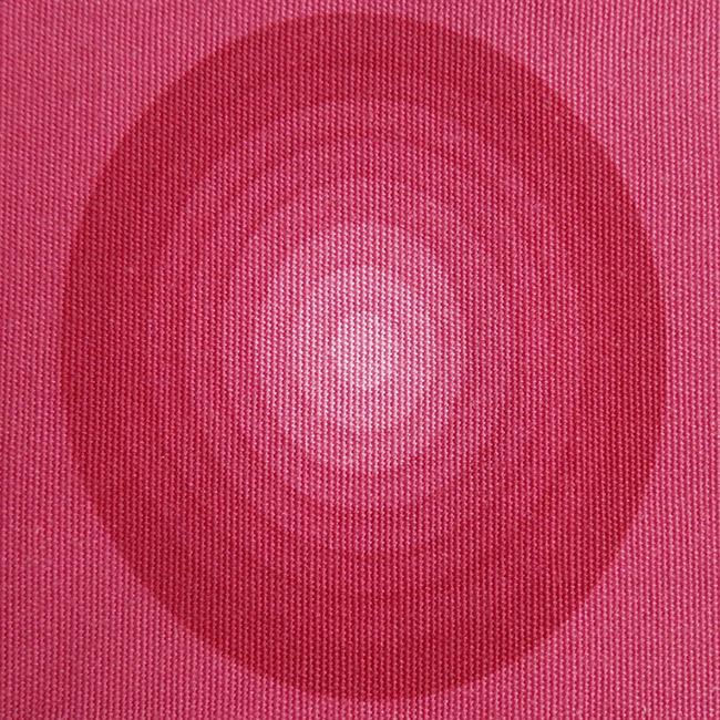 Vintage 1970s Verner Panton Mira-X circles fabric tablemats