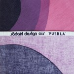 Södahl Design large cotton screenprint Puebla by Hans-Jürgen Schöbel