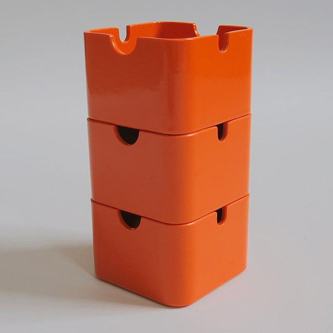 Quadro by Florian Seiffert for Braun/Consul ashtrays vintage 1970