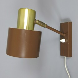 Alfa wall lamp designed in the early 1960s by Jo Hammerborg for Fog & Mørup