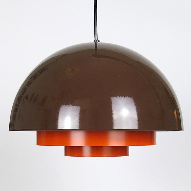 Orange and brown Milieu by Jo Hammerborg for Fog & MørupFog & Mørup