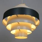 Stunning 1960s vintage midcentury modern Danish pendant light
