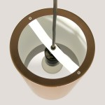 Sektor pendant light designed by Jo Hammerborg for Fog & Mørup