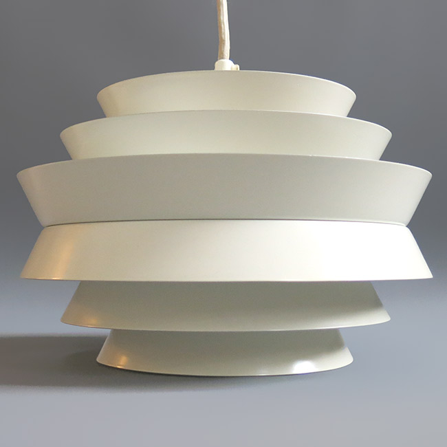 Trava white pendant light designed by Carl Thore for Granhaga