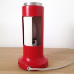 Red Contact lamp by Peter Avondoglio for Fog & Morup, 1970s Danish modern