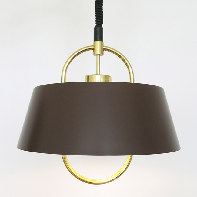 Hercules rise and fall pendant light by Jo Hammerborg for Fog & Mørup