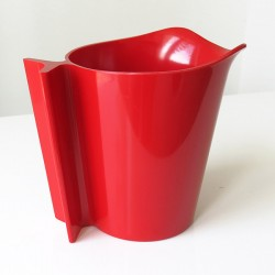 Henning Koppel Danish modern design red melamine pitcher/jug for Torben Orskov