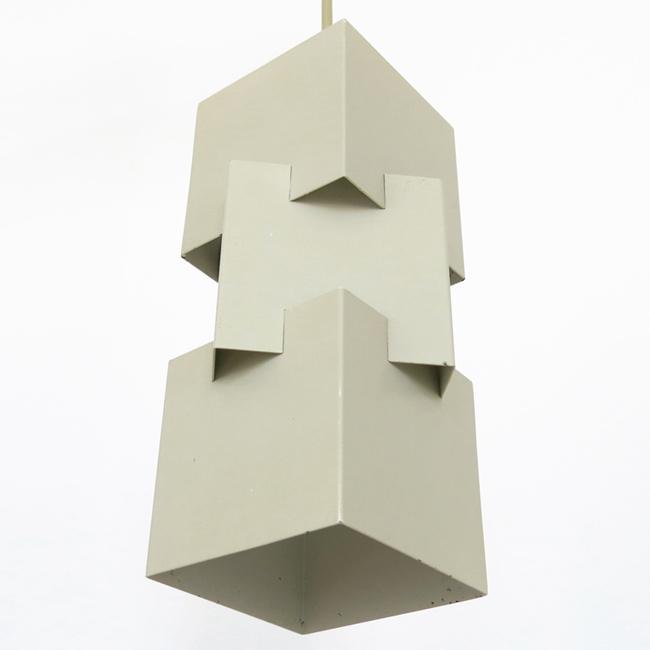 Kubus pendant lamp by Jo Hammerborg for Fog & Mørup, early 1960s