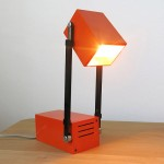 Verner Panton design for Louis Poulsen LamPetit work lamp or spotlight, 1960s