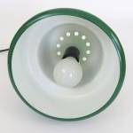 Green Poker pendant light by Jo Hammerborg for Fog & Mørup, 1970s