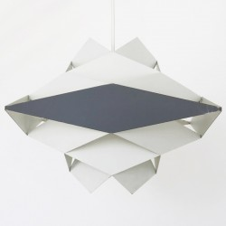 Symfoni Danish art light by Preben Dal for HF Belysning, early 60s
