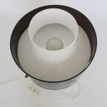 Acrylic/perspex multi-use lamp by Yki Nummi for Orno Finland, 1960s