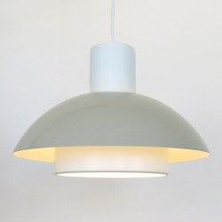 Lakaj pendant light pair, designed by Jo Hammerborg for Fog & Mørup, 1970s