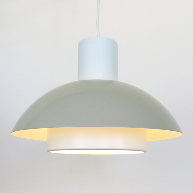 Lakaj pendant light pair, designed by Jo Hammerborg for Fog & Mørup, 1970s