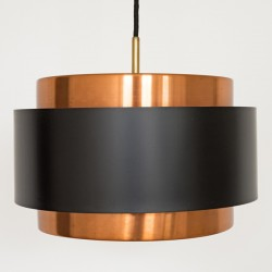 An early Saturn pendant light by Jo Hammerborg for Fog & Morup, late 1950s
