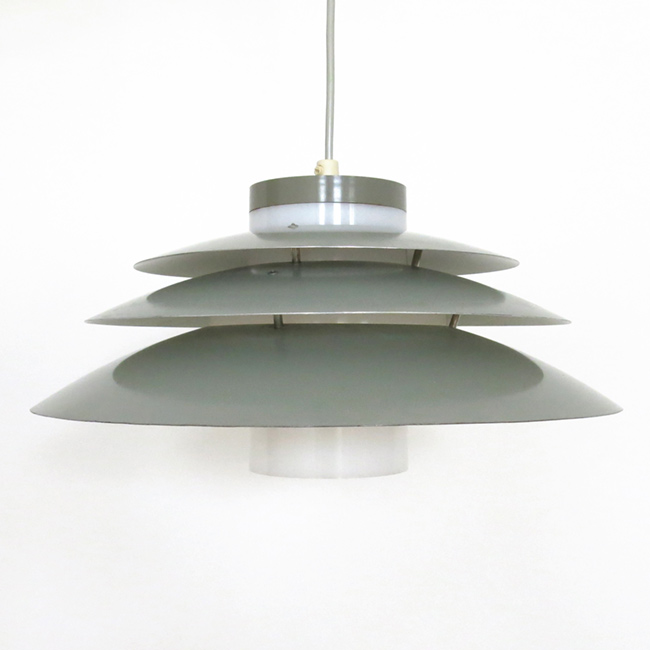 Danish modern Trenta pendant light designed by Bent Karlby for Lyfa, 1960s
