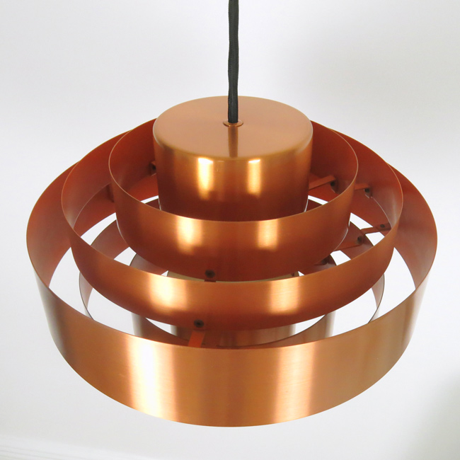 Ultra pendant designed in the early 1960s by Jo Hammerborg for Fog & Mørup
