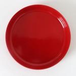 Kristian Vedel designed red melamine dish by Torben Ørksov of Denmark, 1960s