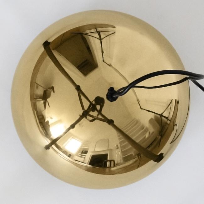 Golden Line 24-carat gold-plated Fog & Mørup Milieu by Jo Hammerborg