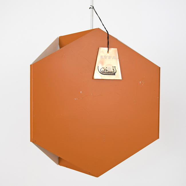 Seks-Tre-Pendel Danish pendant light by Ole Panton for Lyfa of Denmark, 1960s