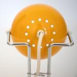 1970s Abo Randers Danish pop art bubble lamp in rich egg-yolk yellow