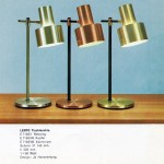 Lento table/desk lamp by Jo Hammerborg for Fog & Mørup, 1960sFog & Mørup