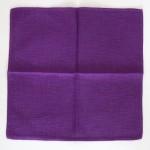 Vintage 60s/70s Finlayson purple slubbed open-weave placemats or napkins