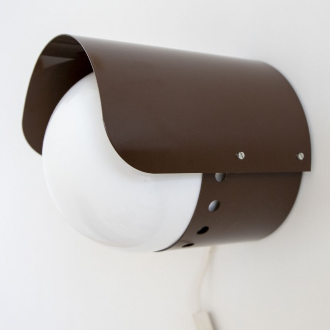Dome wall light designed by Hvidt & Mølgaard for Fog & Mørup, 1970s