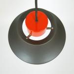 Askepot industrial-style pendant light by Jo Hammerborg for Fog & Mørup, 1970s